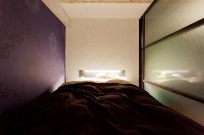 ベッドルーム1 (風格漂う中野ブロードウェイで ワインを楽しむ 大人リノベーション)