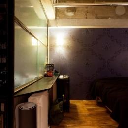 風格漂う中野ブロードウェイで ワインを楽しむ 大人リノベーション (ベッドルーム2)