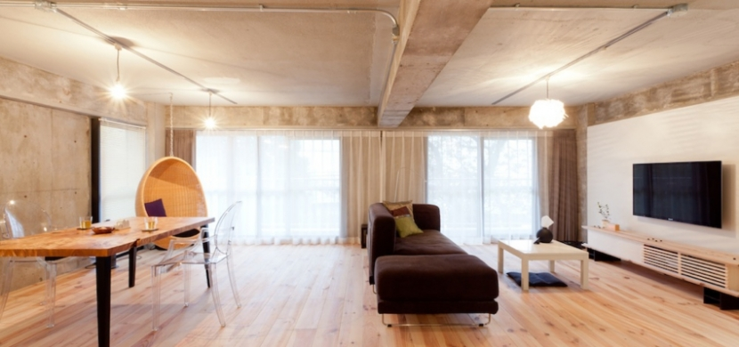リノベの最優先項目は「妻の実家の近くに住むこと」の部屋 リビングダイニング1