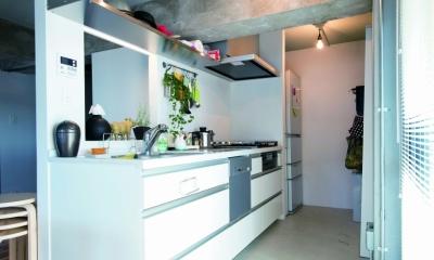 リノベの最優先項目は「妻の実家の近くに住むこと」 (キッチン1)