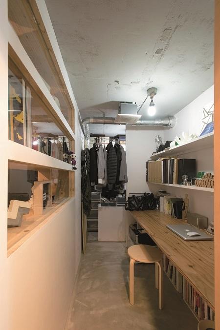 リノベの最優先項目は「妻の実家の近くに住むこと」の部屋 書斎