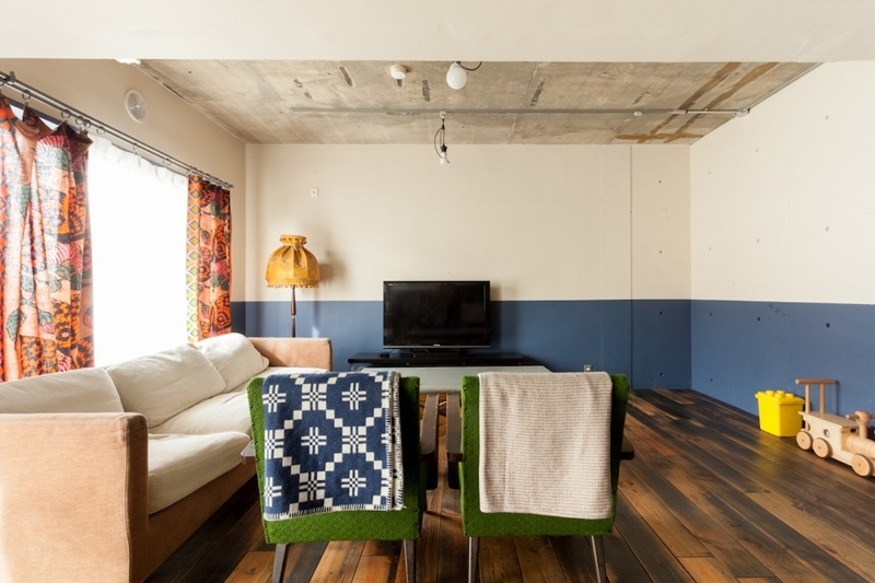 家を育てるリノベーション 好きなものに囲まれた暮らしの部屋 リビングダイニング2