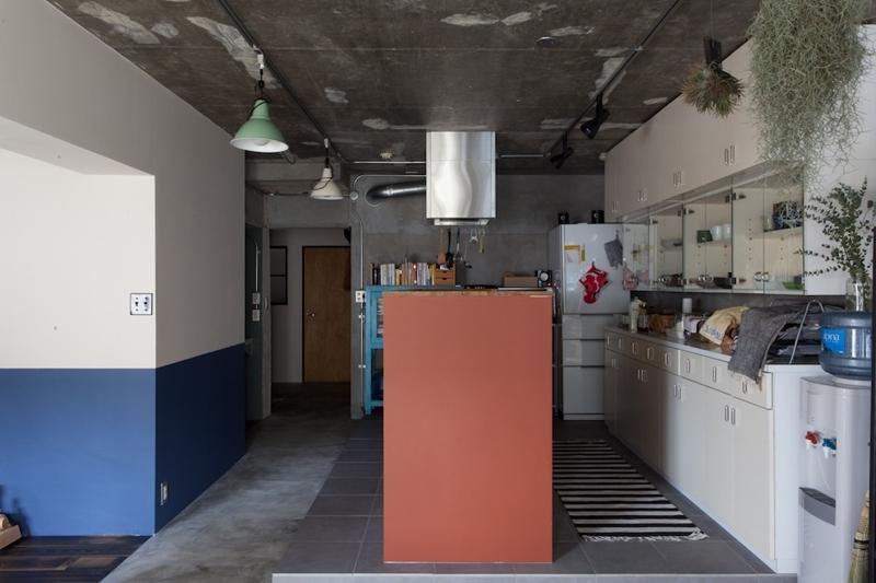 家を育てるリノベーション 好きなものに囲まれた暮らし (キッチン)