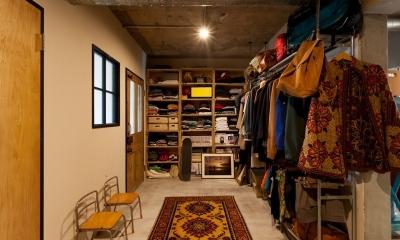 家を育てるリノベーション 好きなものに囲まれた暮らし (玄関土間2)