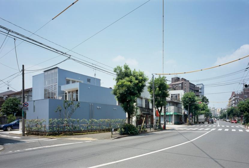 格子の家の写真 外観2