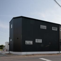 カフェ・ライブラリーの家 (外観4)