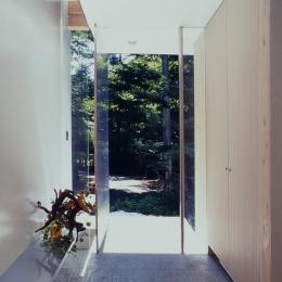 軽井沢コートハウス (エントランス内)