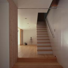 軽井沢コートハウス (階段)