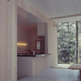 軽井沢コートハウス (キッチン)