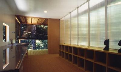 軽井沢コートハウス (寝室)