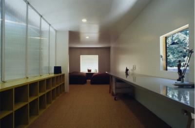 寝室2 (軽井沢コートハウス)
