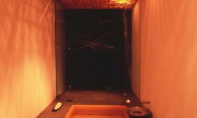 軽井沢コートハウス (お風呂)