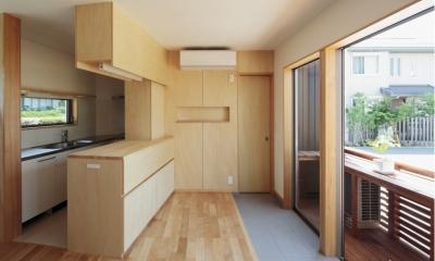 カフェ・ライブラリーの家 (キッチン2)