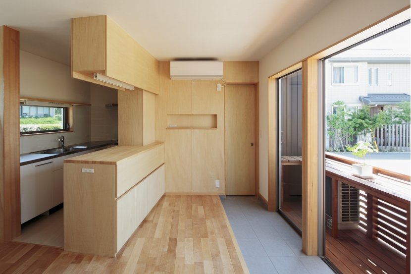 カフェ・ライブラリーの家の部屋 キッチン2