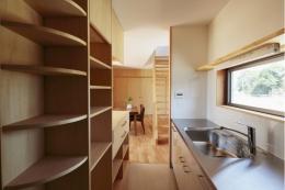 カフェ・ライブラリーの家 (キッチン3)