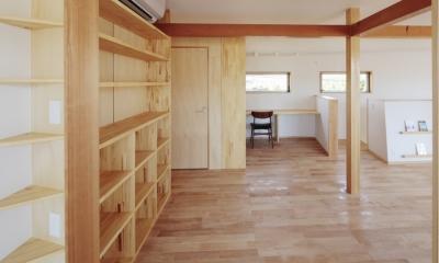 カフェ・ライブラリーの家 (ファミリースペース)