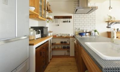 オーダーキッチンのある家 (キッチン3)