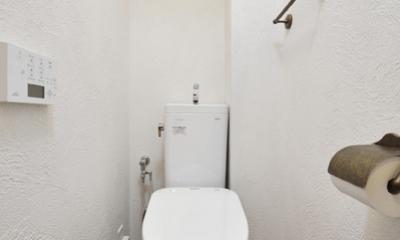 オーダーキッチンのある家 (トイレ)