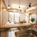 遠藤 浩の住宅事例「庭を抱える家」