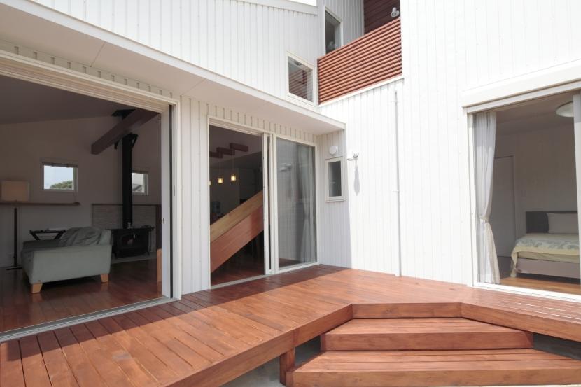 建築家:とりやまあきこ「すべりだいの家」