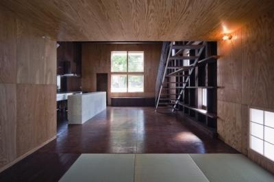 浜寺の家:大阪 . 堺の注文住宅 (リビングダイニング)