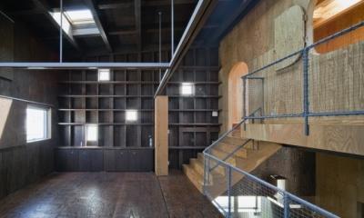 浜寺の家:大阪 . 堺の注文住宅 (中2階のスペース)