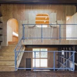 浜寺の家:大阪 . 堺の注文住宅 (上2階のスペース)