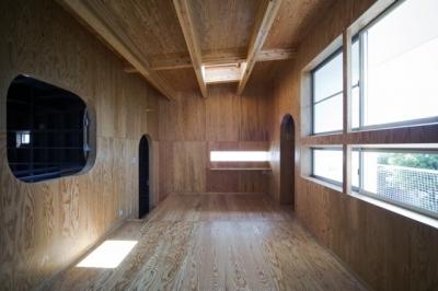 上2階のスペース (浜寺の家:大阪 . 堺の注文住宅)