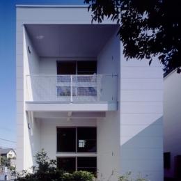 浜寺の家:大阪 . 堺の注文住宅 (南側外観)