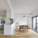 Coo Planning/中尾彰良の住宅事例「住吉川の家:神戸市のマンションリノベーション . 古材・漆喰を使ったスケルトンリフォーム」