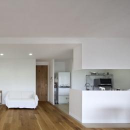 住吉川の家:古材・漆喰を使ったスケルトンリフォーム (リビングダイニング)