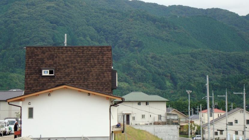 屋根裏ゲストルームのある平屋建て住宅の部屋 外観