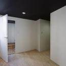 甲南の家:神戸の注文住宅 . ガレージハウスの写真 主寝室