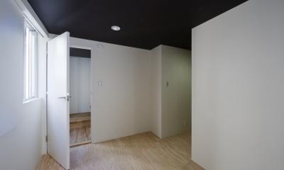 甲南の家:神戸の注文住宅 . ガレージハウス (主寝室)