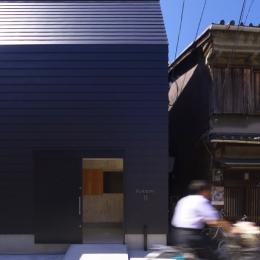旭区の家:大阪の注文住宅. 住人十色 (外観)