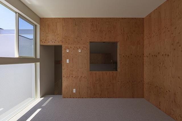 デザインを極めた黒い箱の部屋 フリールーム