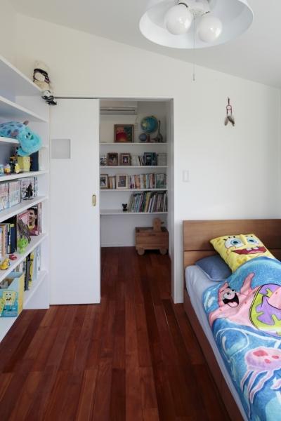 子供部屋2 (すべりだいの家)