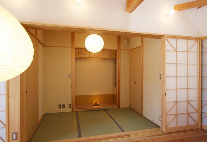 建築家:遠藤 浩「全て障子で仕切る家」