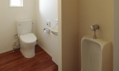 すべりだいの家 (トイレ)
