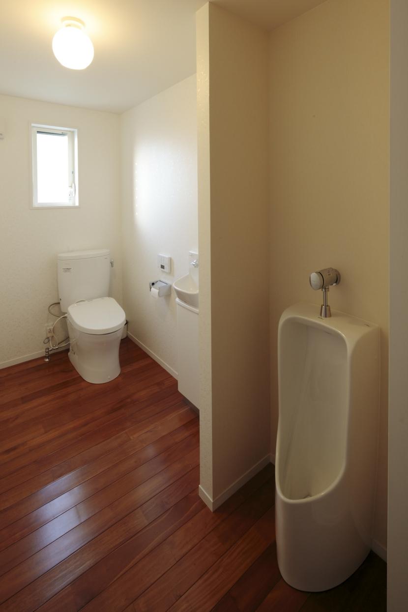 すべりだいの家の部屋 トイレ