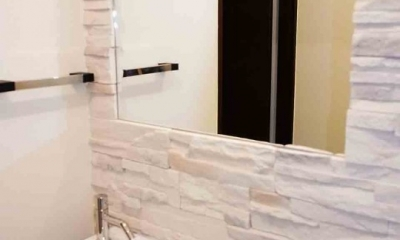 横須賀 大人なリノベ (トイレ手洗い)