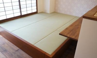 畳|上町 和洋折衷 レトロなお部屋