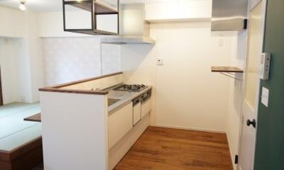 キッチン|上町 和洋折衷 レトロなお部屋