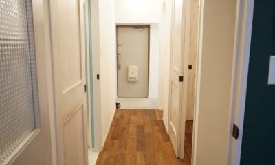 上町 和洋折衷 レトロなお部屋 (廊下)