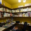空掘の家:大阪の中古住宅リノベーションの写真 書斎
