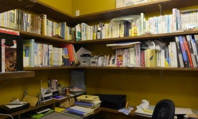 空掘の家:大阪の中古住宅リノベーション (書斎)