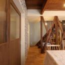 空掘の家:大阪の中古住宅リノベーションの写真 リビングダイニング
