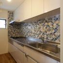 空掘の家:大阪の中古住宅リノベーションの写真 キッチン