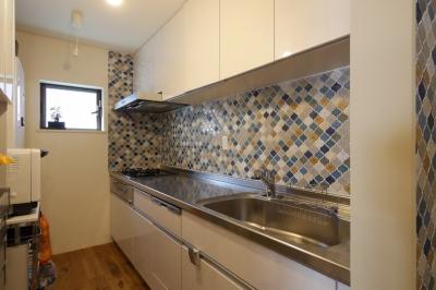キッチン (空掘の家:大阪の中古住宅リノベーション)