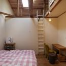 空掘の家:大阪の中古住宅リノベーションの写真 主寝室